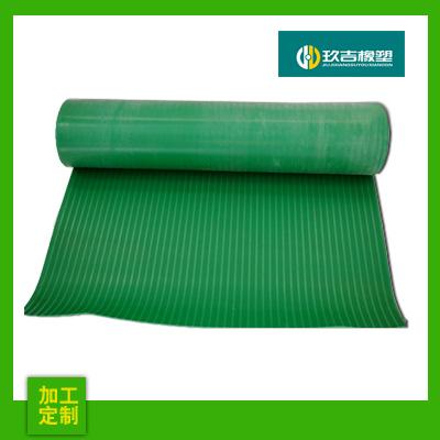 绿沟橡胶板