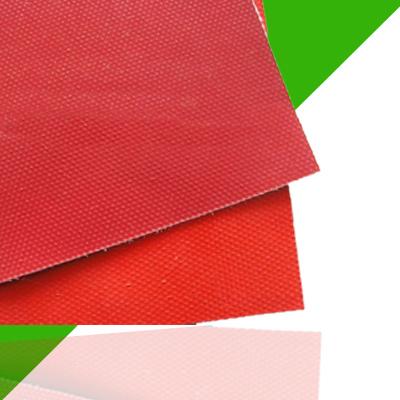 红色硅胶布厂家
