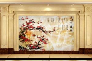 现代大理石背景墙