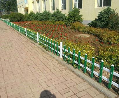 潍坊pvc草坪护栏