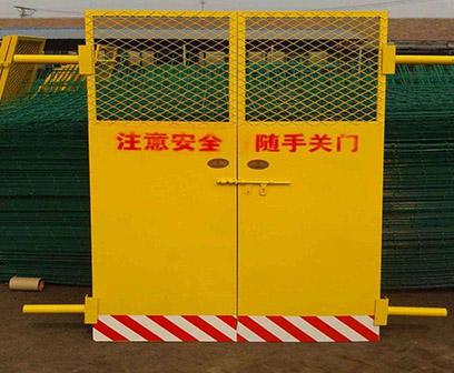 工地电梯安全门厂家