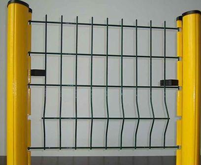 山东桃型柱护栏网