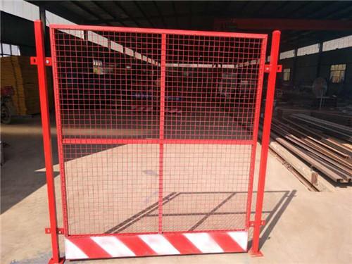 电梯防护门洞口网片