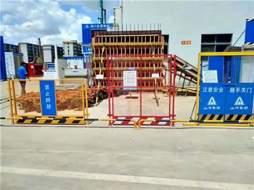 建筑工地临边防护栏制作