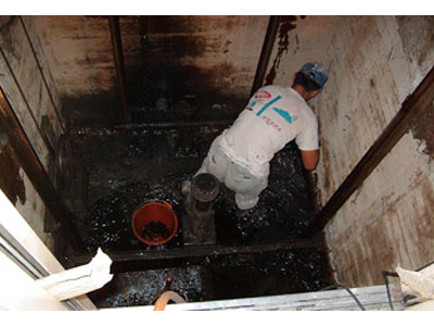 电梯井防水工程
