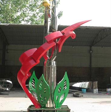 �F�不�P�雕塑