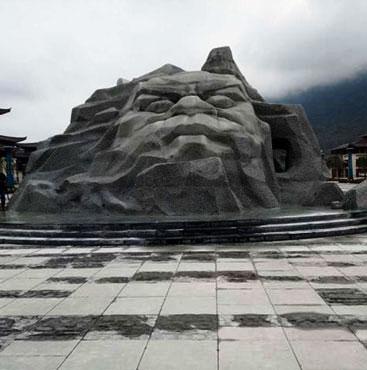 贵阳岩石雕塑
