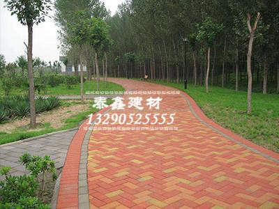 彩色路面砖