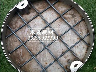 不锈钢隐形井盖安装