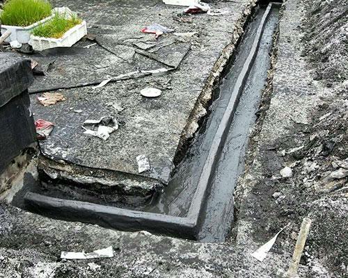屋面防水截流