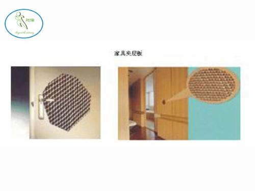 纸制蜂窝板材家具行业应用