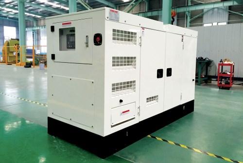 靜音箱柴油發電機組