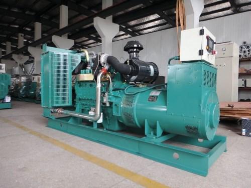 乾能柴油發電機組