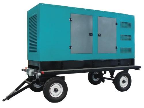 移動式柴油發電機組