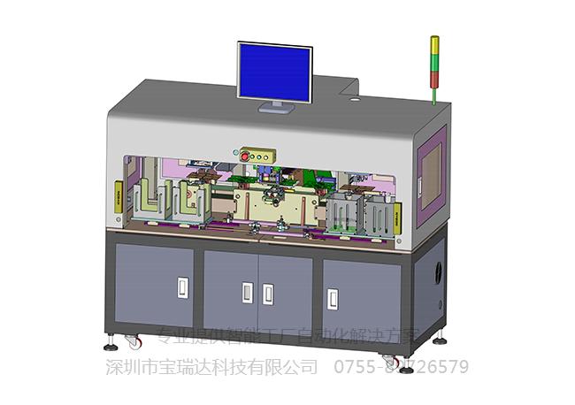 PCB高速视觉贴标机