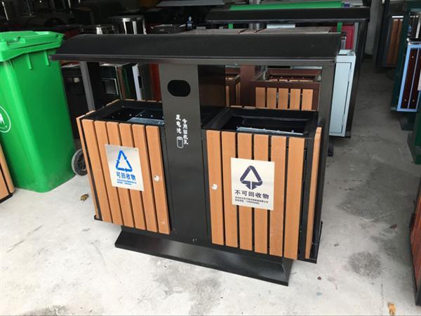 贵州钢木垃圾箱