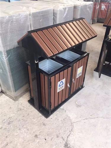 贵阳钢木垃圾箱