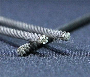 1×37不锈钢控制线用钢丝绳