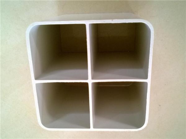 PVC四孔格柵管