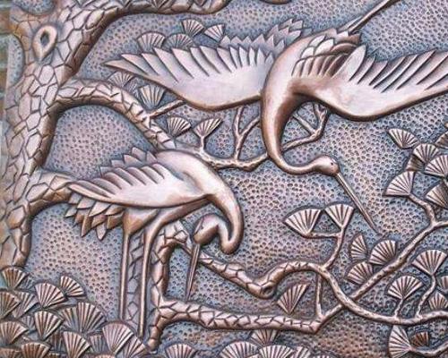 贵州锻铜雕塑