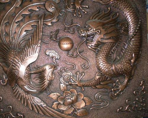 锻铜雕塑公司
