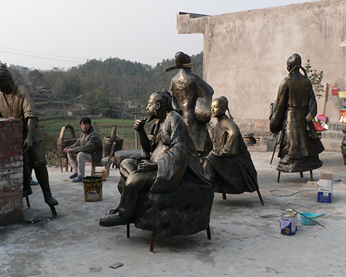 貴州人物雕塑
