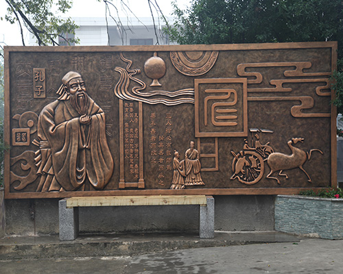 贵州校园雕塑
