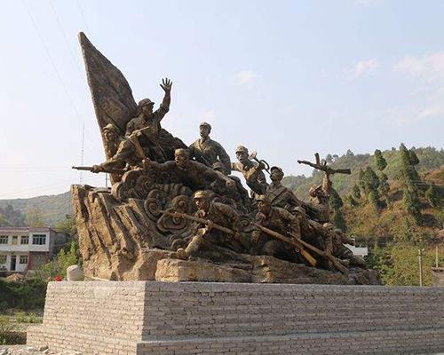 贵阳红军雕塑