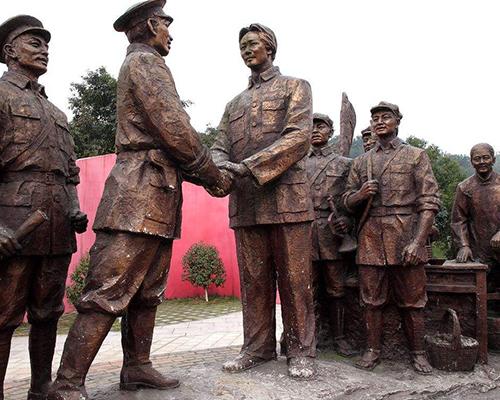 贵州红军雕塑