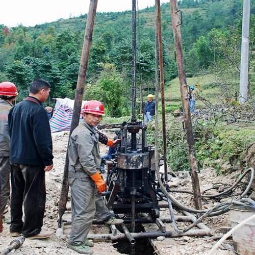 深水井钻探