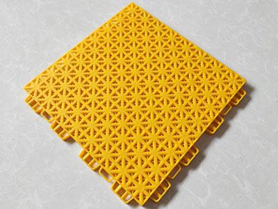 悬浮拼装地板安装