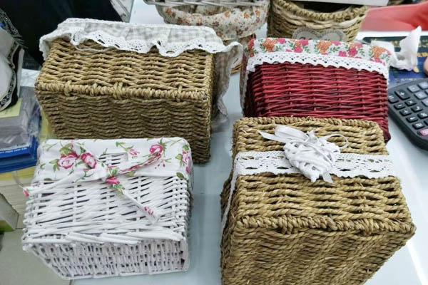编织收纳盒