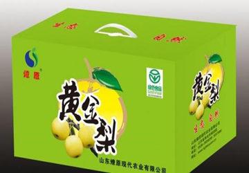 水果纸箱设计