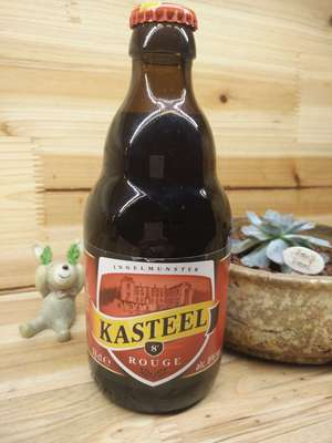 卡斯特红啤