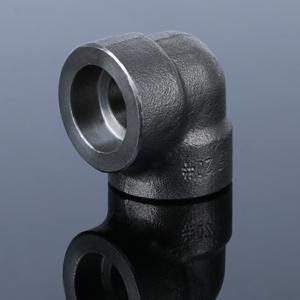 碳鋼90度承插彎頭