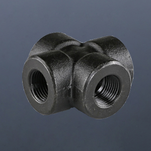 碳钢螺纹四通
