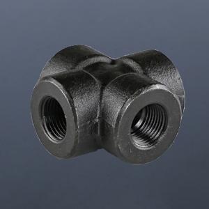 碳鋼螺紋四通