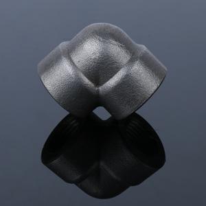 90度碳鋼螺紋彎頭