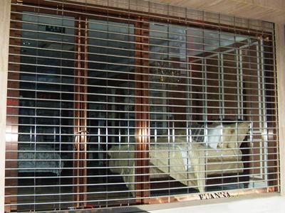 不锈钢吊片卷帘门