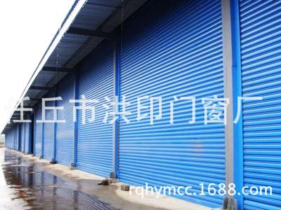 大型钢制防风卷帘门