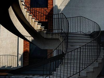 石家庄旋转楼梯