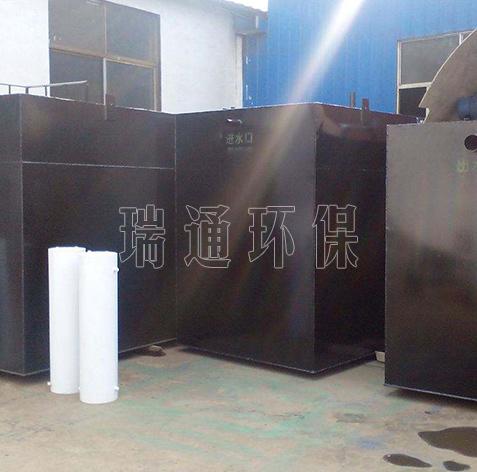 沈阳地埋式污水处理设备
