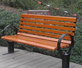 防腐木公园椅