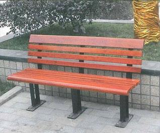 遵义防腐木公园椅