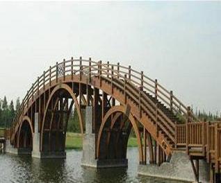 遵义防腐木桥梁
