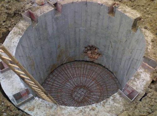 沉井下沉施工