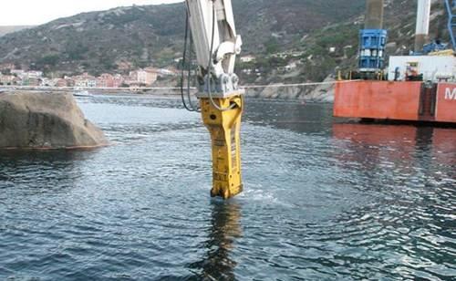 水下拆除施工