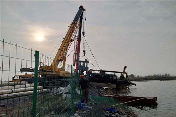 橋樁水下拆除