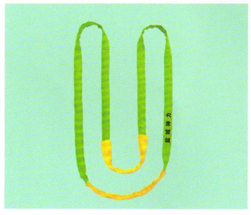 双扣穿芯环绕吊带