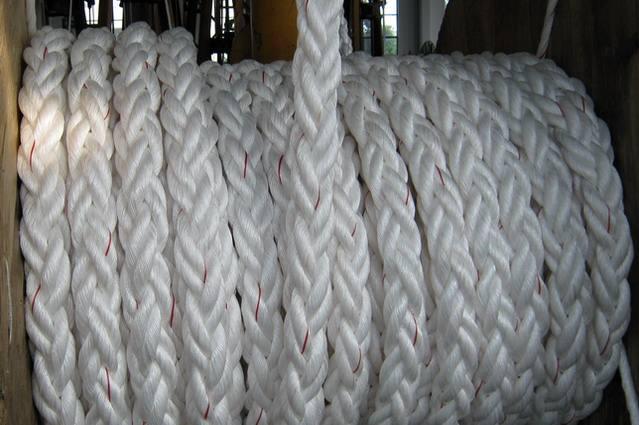 船用缆绳生产